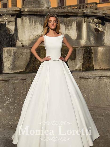 Nevin Wedding                                          dress by Monica Loretti