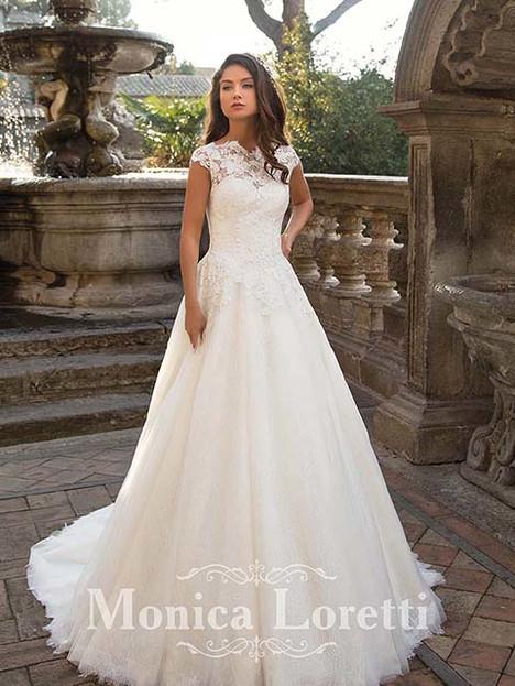 Nibila Wedding                                          dress by Monica Loretti