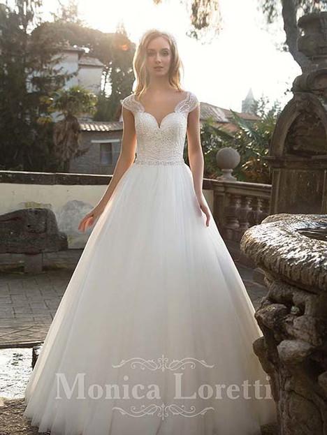 Nika Wedding                                          dress by Monica Loretti