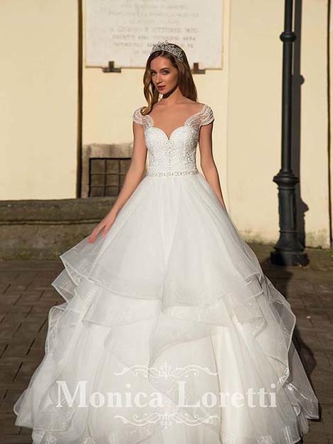 Nika  (+ ruffles) Wedding                                          dress by Monica Loretti