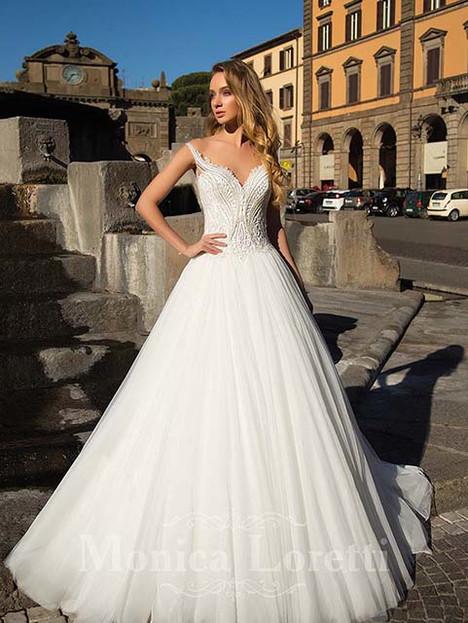Olivo Wedding                                          dress by Monica Loretti