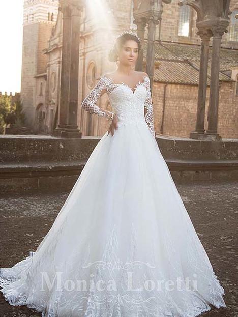 Olson Wedding                                          dress by Monica Loretti