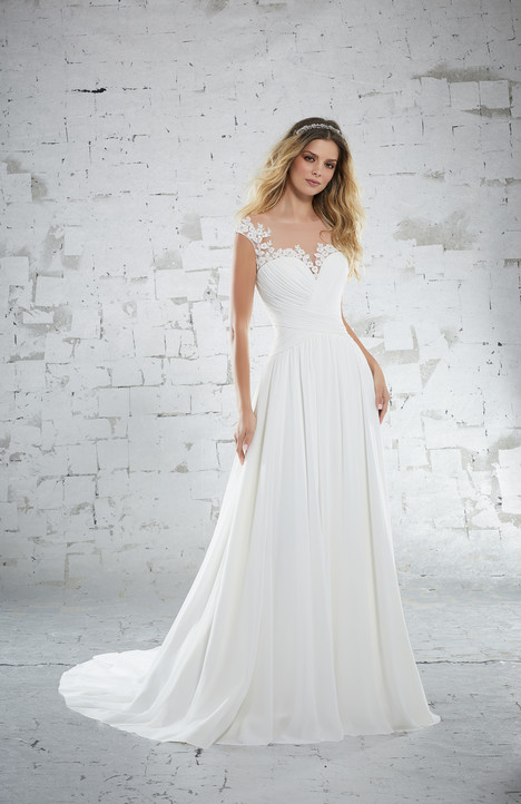 6885 Wedding                                          dress by Mori Lee: Voyage