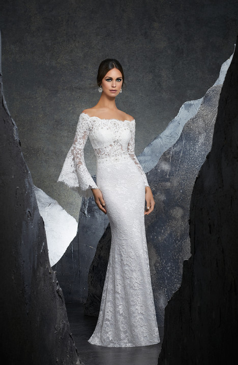 5605 gown from the 2018 Morilee Blu collection, as seen on dressfinder.ca