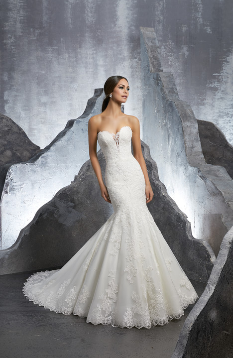 5607 Wedding                                          dress by Mori Lee: Blu