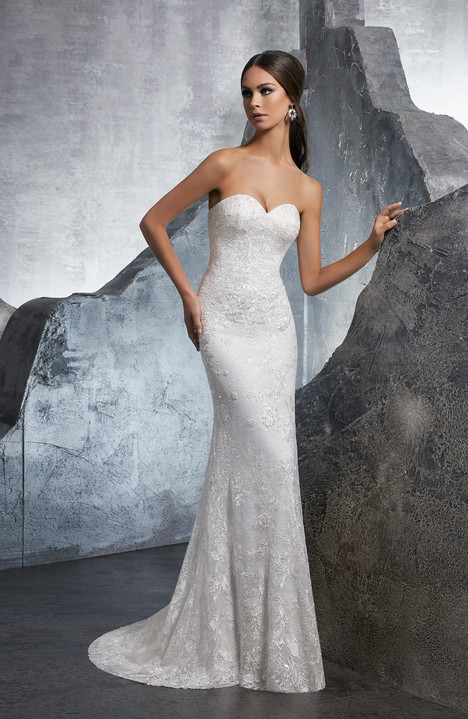 5610 Wedding                                          dress by Mori Lee: Blu