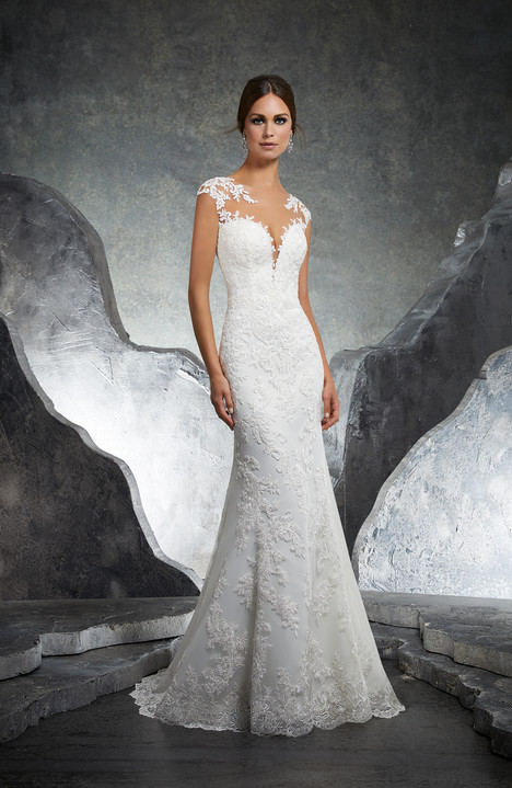 5612 Wedding                                          dress by Mori Lee: Blu