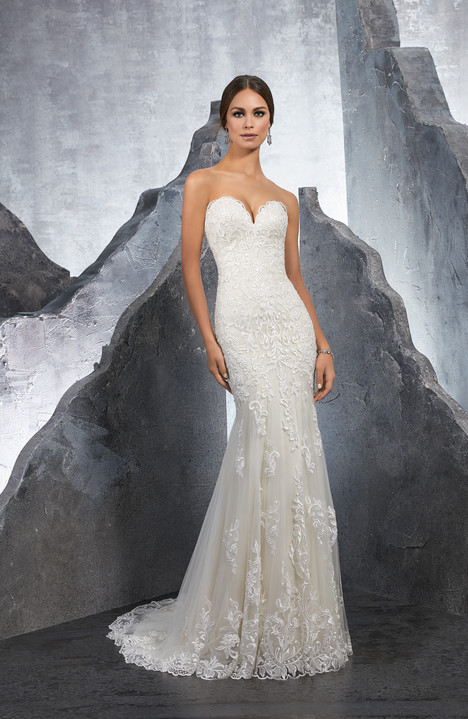 5615 Wedding                                          dress by Mori Lee: Blu