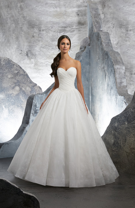 5617 Wedding                                          dress by Mori Lee: Blu