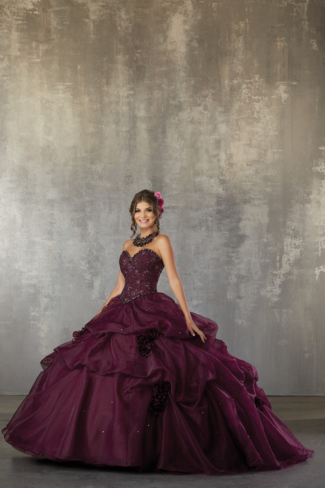 60031 (Bordeaux) Prom                                             dress by Morilee Valencia