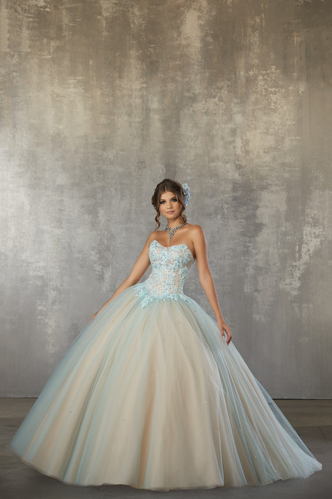 60032 (Bahama Blue) Prom                                             dress by Morilee Valencia