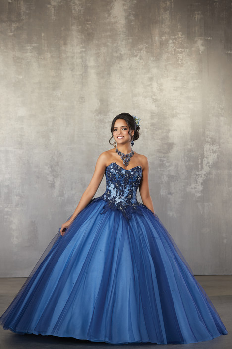 60032 (Blue) Prom                                             dress by Morilee Valencia