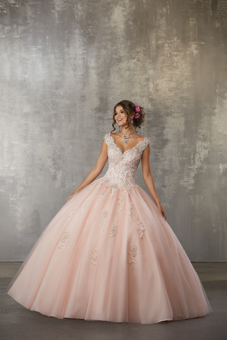 60033 (Blush) Prom                                             dress by Morilee Valencia