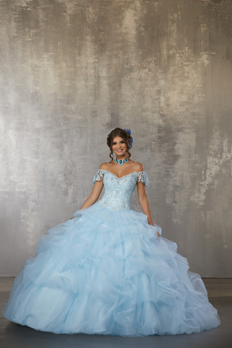 60034 (Light Blue) Prom                                             dress by Morilee Valencia
