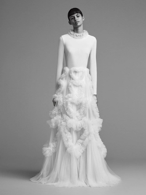 Look 1 Wedding                                          dress by Viktor & Rolf Mariage