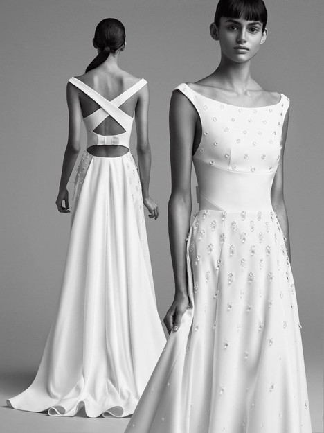 Look 18 Wedding                                          dress by Viktor & Rolf Mariage