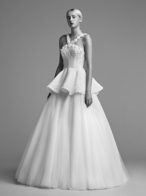 Look 7 Wedding                                          dress by Viktor & Rolf Mariage
