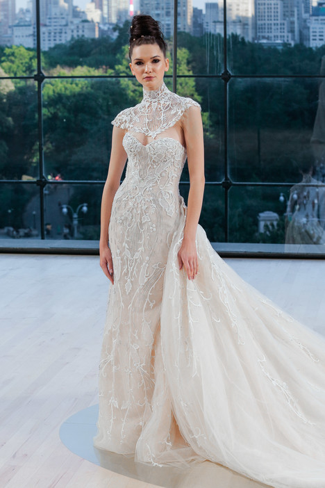 Carnegie Wedding                                          dress by Ines Di Santo