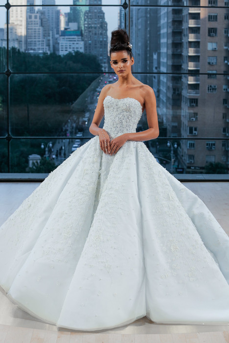 Tiffany Wedding                                          dress by Ines Di Santo