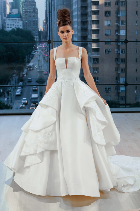 Fulton Wedding                                          dress by Ines Di Santo