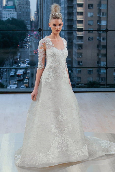 Hudson Wedding                                          dress by Ines Di Santo