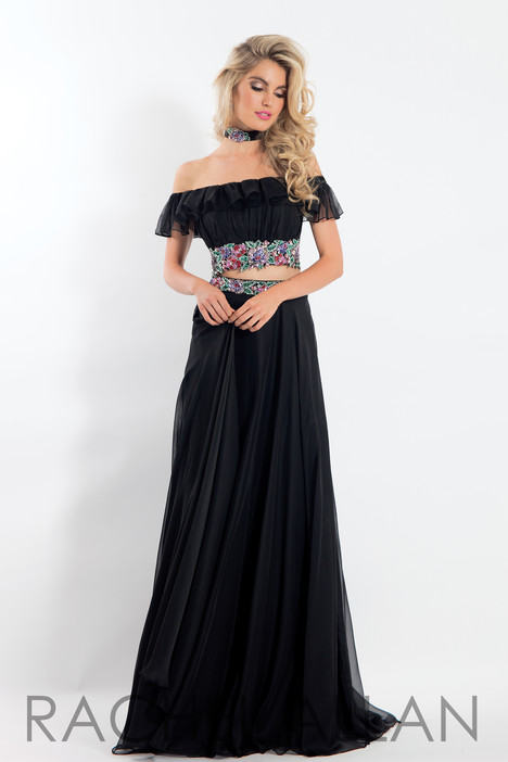 6010 (Black) gown from the 2018 Rachel Allan collection, as seen on dressfinder.ca