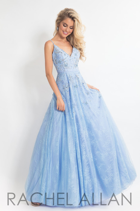 6012 (Blue) Prom                                             dress by Rachel Allan