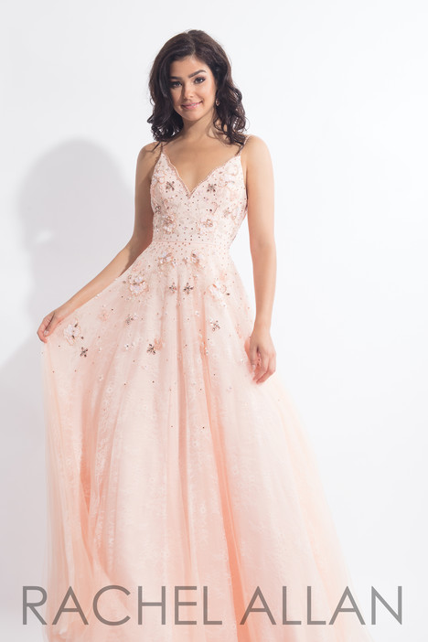 6012 (Blush) Prom                                             dress by Rachel Allan