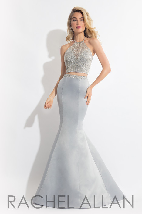 6013 (Silver) gown from the 2018 Rachel Allan collection, as seen on dressfinder.ca