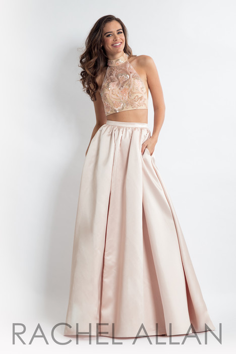 6014 (Champagne) Prom                                             dress by Rachel Allan