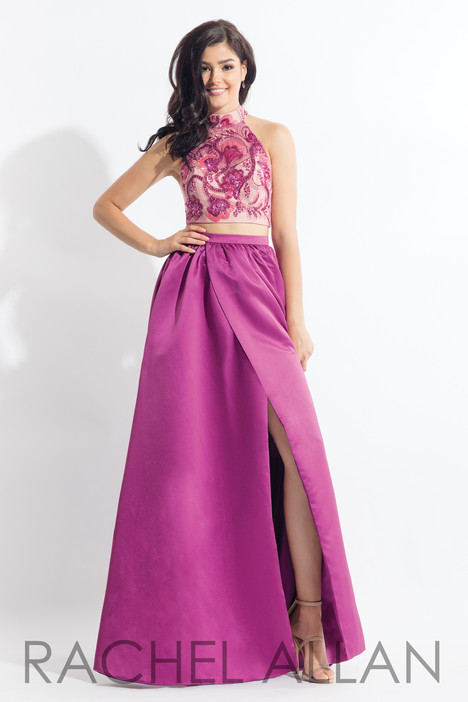 6014 (Magenta) gown from the 2018 Rachel Allan collection, as seen on dressfinder.ca