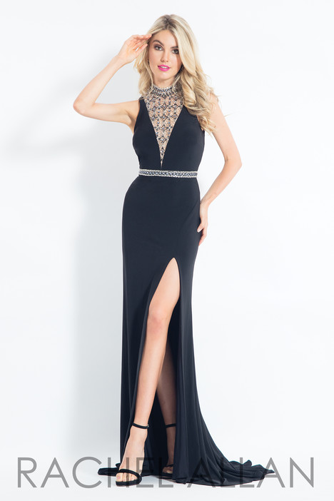 6016 (Black) Prom                                             dress by Rachel Allan
