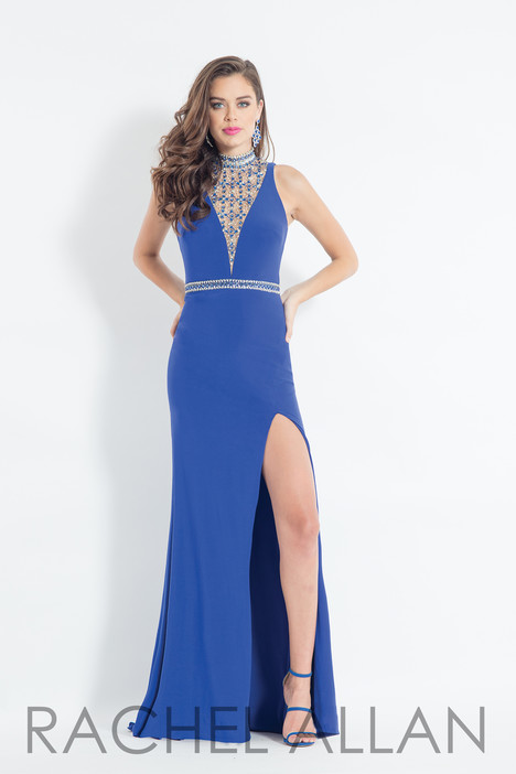 6016 (Blue) Prom                                             dress by Rachel Allan