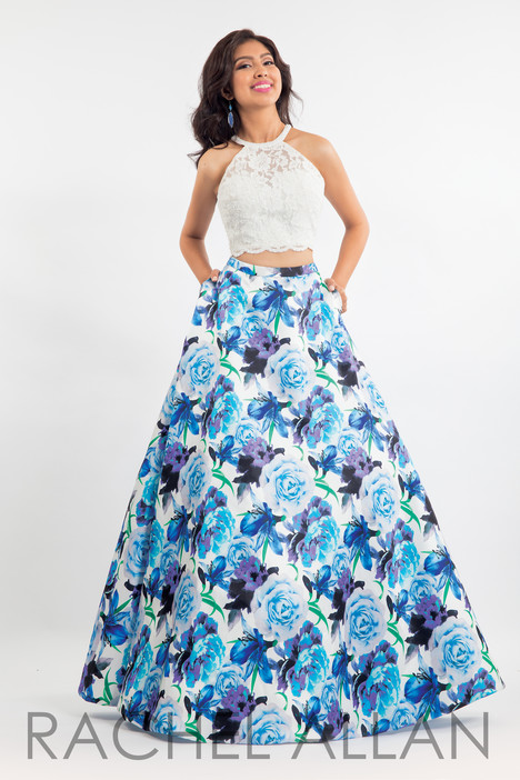 6017 (Blue) Prom                                             dress by Rachel Allan