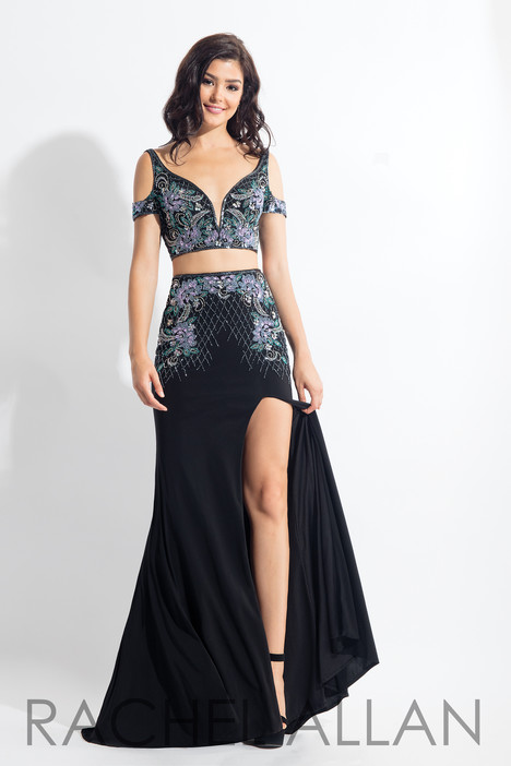 6018 (Black) Prom                                             dress by Rachel Allan