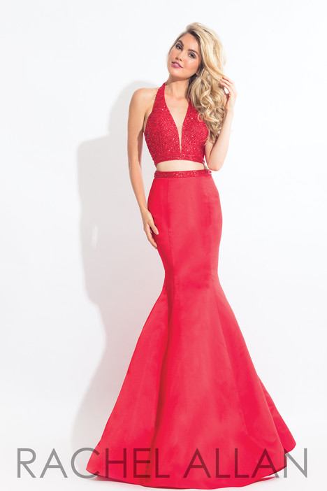 6019 (Red) Prom                                             dress by Rachel Allan