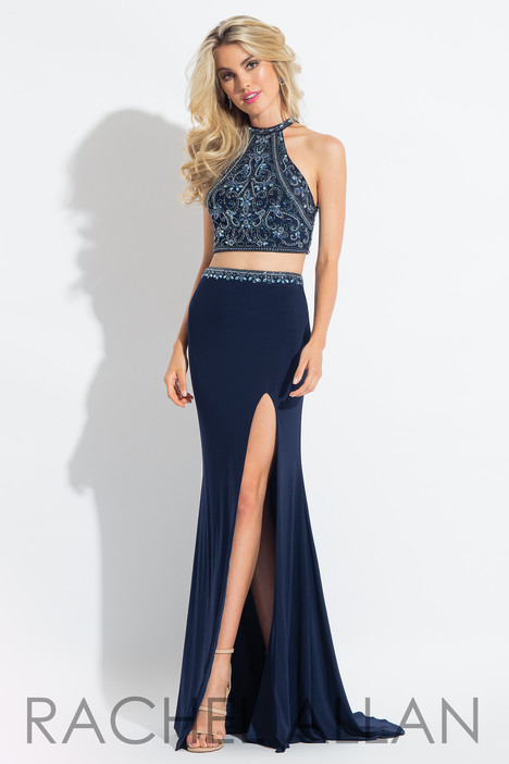 6021 (Navy) Prom                                             dress by Rachel Allan