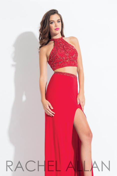 6021 (Red) Prom                                             dress by Rachel Allan
