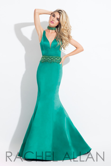 6022 (Emerald) Prom                                             dress by Rachel Allan