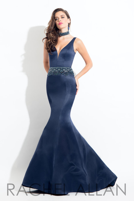 6022 (Navy) Prom                                             dress by Rachel Allan