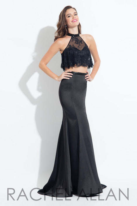 6023 (Black) Prom                                             dress by Rachel Allan