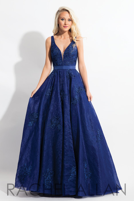 6027 (Navy) Prom                                             dress by Rachel Allan