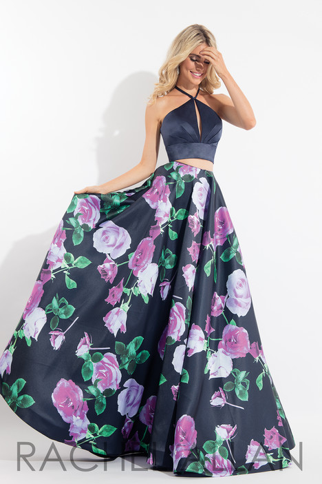6028 (Navy) gown from the 2018 Rachel Allan collection, as seen on dressfinder.ca