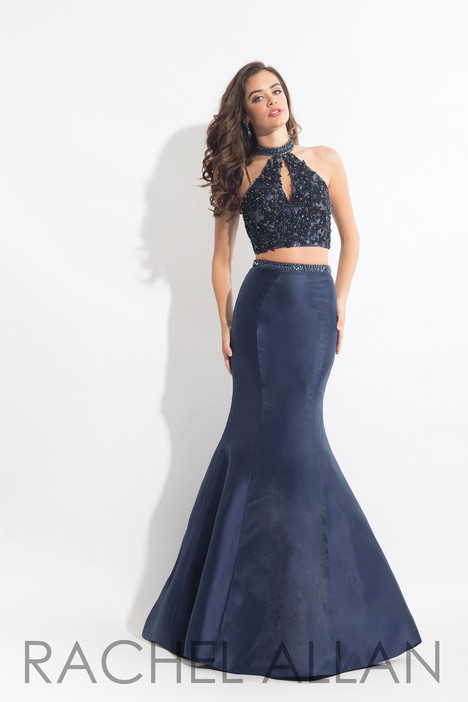6031 (Navy) gown from the 2018 Rachel Allan collection, as seen on dressfinder.ca
