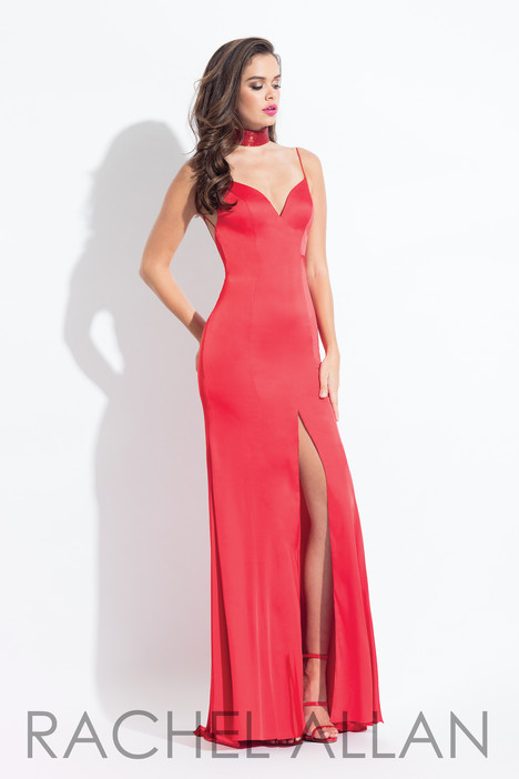 6033 (Red) gown from the 2018 Rachel Allan collection, as seen on dressfinder.ca