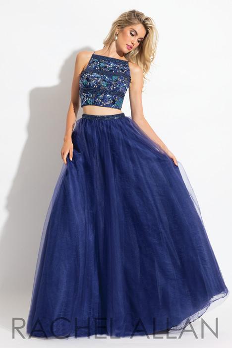 6036 (Navy) Prom dress by Rachel Allan
