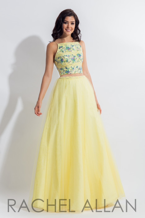 6036 (Yellow) gown from the 2018 Rachel Allan collection, as seen on dressfinder.ca