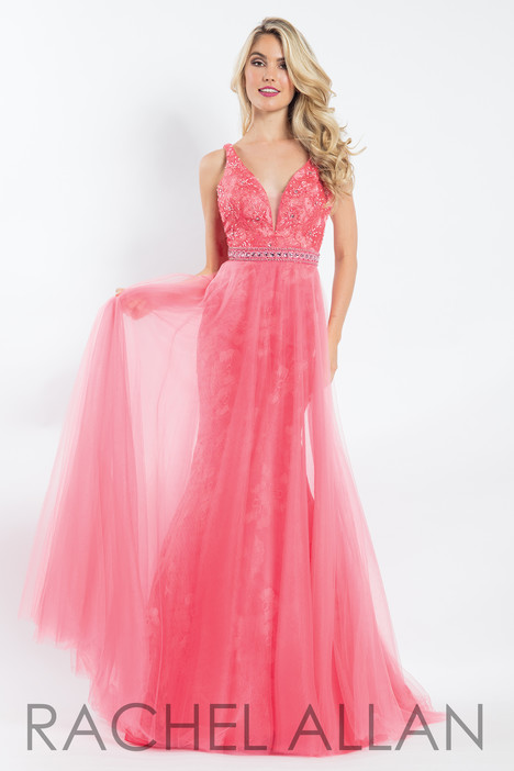 6039 (Pink) gown from the 2018 Rachel Allan collection, as seen on dressfinder.ca