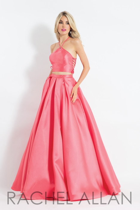6040 (Coral) gown from the 2018 Rachel Allan collection, as seen on dressfinder.ca