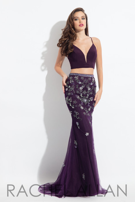6042 (Aubergine) Prom                                             dress by Rachel Allan